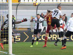Voti Parma Roma 0-2