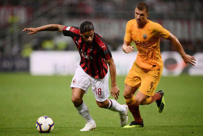 Diretta Roma Milan, formazioni e live