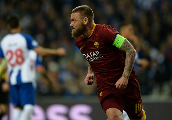 infortunio de rossi