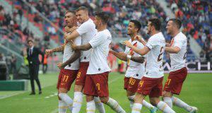 Roma-Bologna, Dzeko: «Un successo meritato»