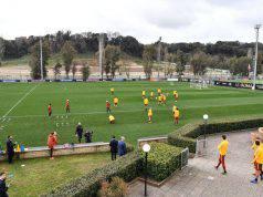 trigoria allenamento roma