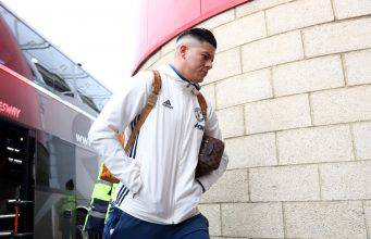MIDDLESBROUGH, ENGLAND - MARCH 19: Marcus Rojo arrives prior to the Premier League match between Middlesbrough and Manchester United at Riverside Stadium on March 19, 2017 in Middlesbrough, England. (Photo by Matthew Lewis/Getty Images)
