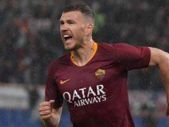 Roma Dzeko Juventus