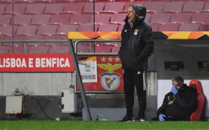 Jorge Jesus Benfica Tiago Pinto