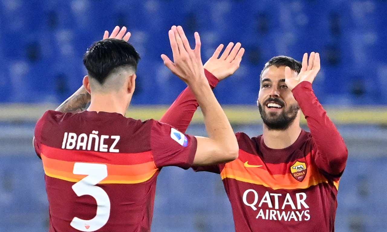 Voti Roma Fiorentina Ibanez Spinazzola