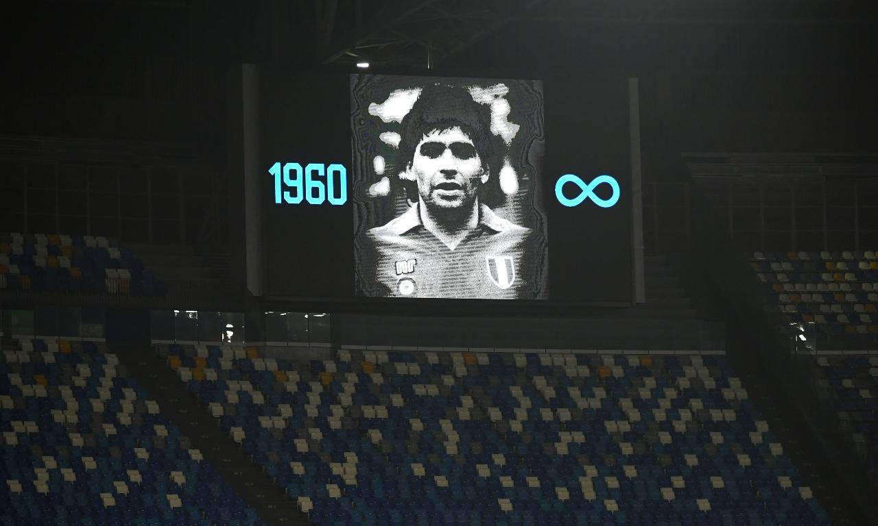 Napoli Roma Policano Maradona