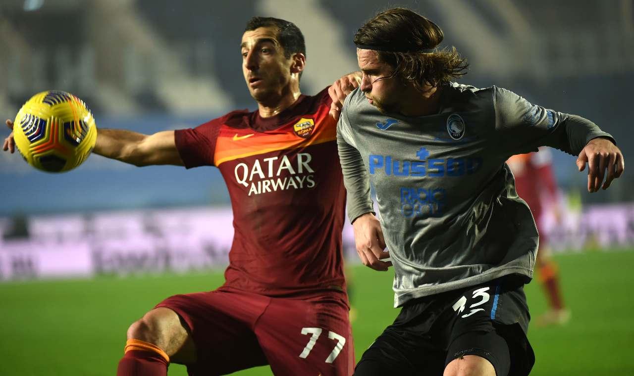 Voti Atalanta Roma Mkhitaryan