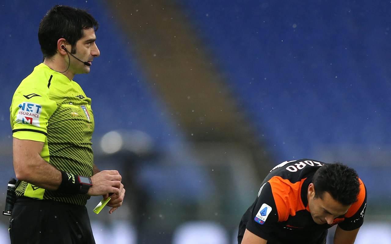 arbitro maresca roma sassuolo
