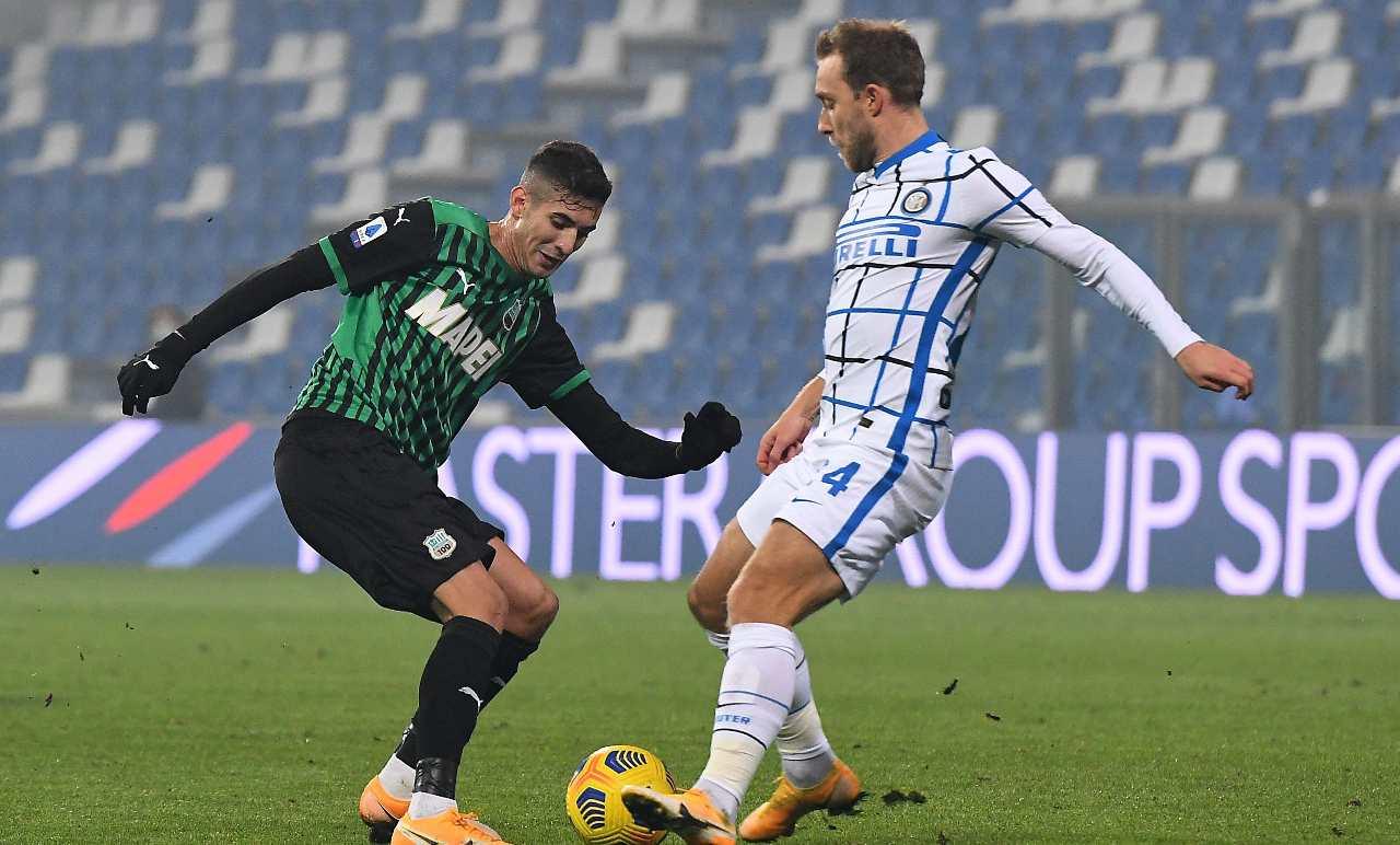 Calciomercato Roma Eriksen