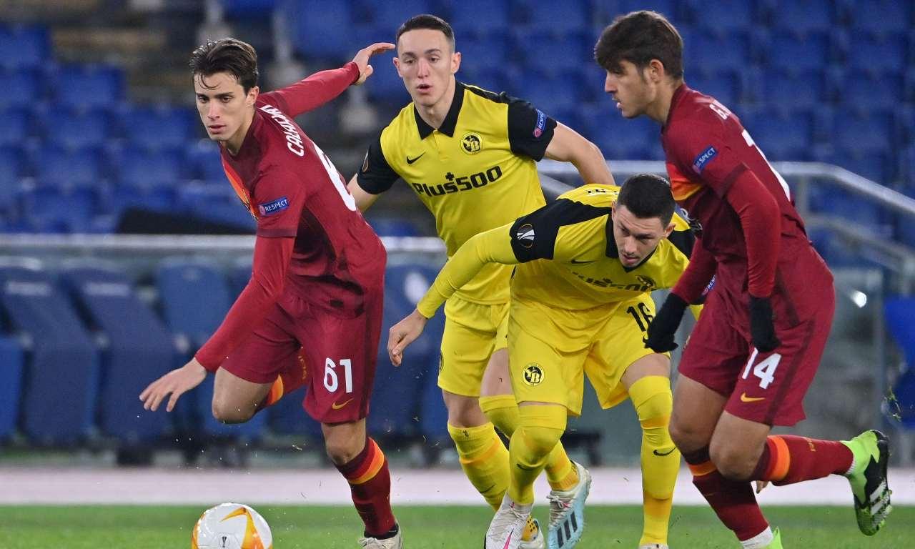 Voti Roma Young Boys Villar