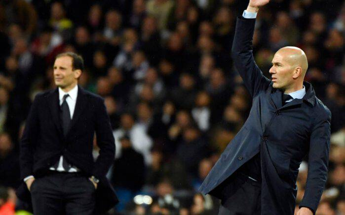 allegri zidane real madrid