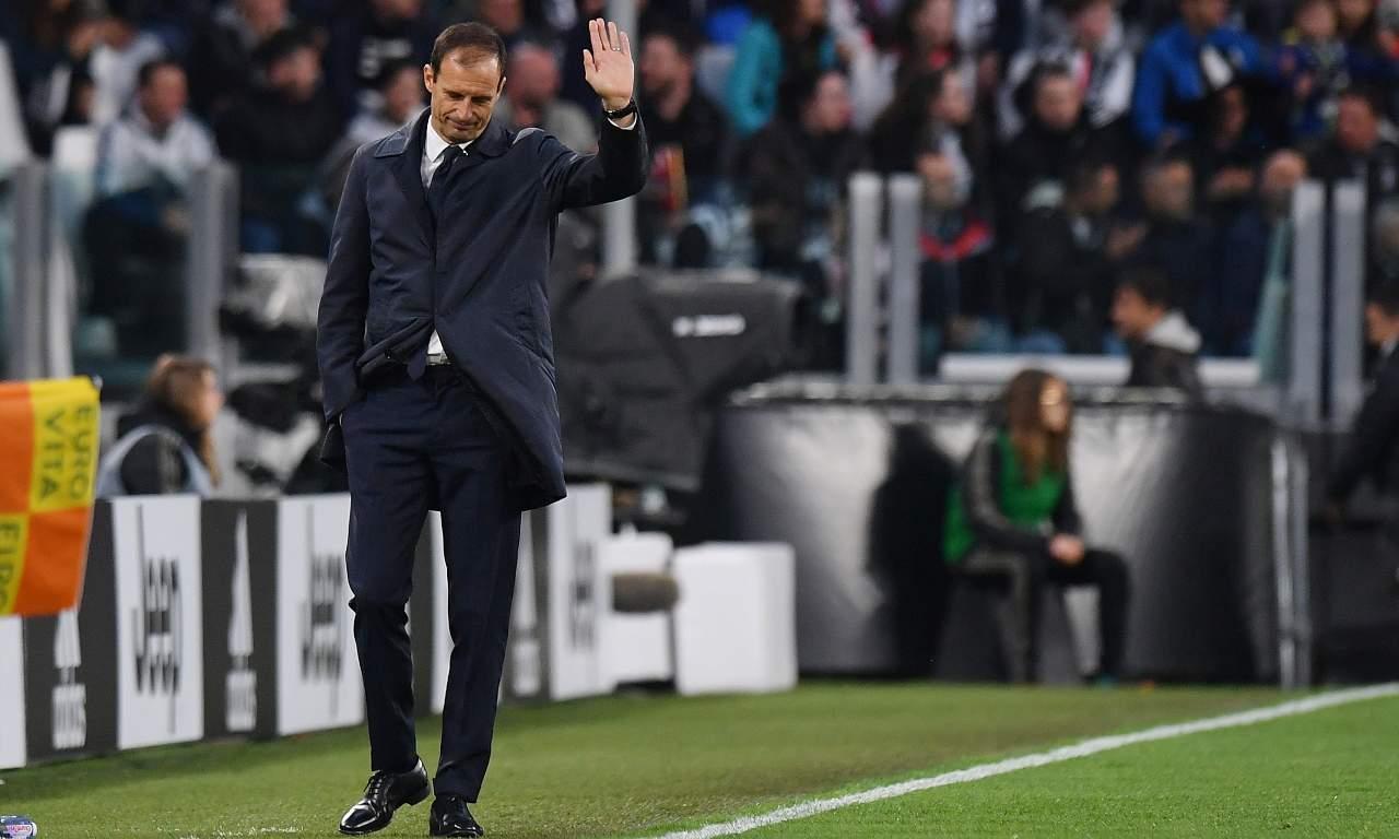 Calciomercato Roma, Moggi annuncia Allegri