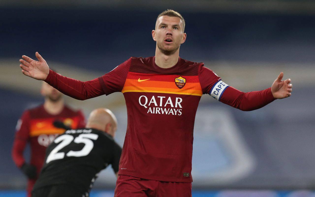 Calciomercato Roma, l'erede di Dzeko lo porta Mendes