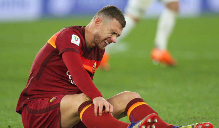 Braga-Roma, injury to Edin Dzeko
