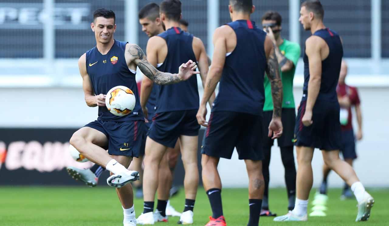 AS Roma allenamento