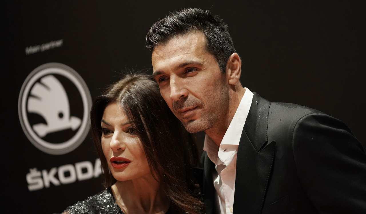 Ilaria D'Amico e Buffon