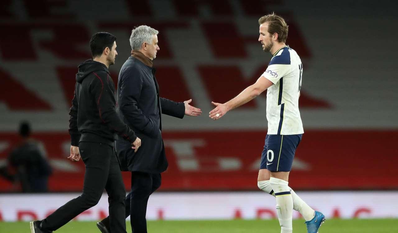 Mourinho e Kane