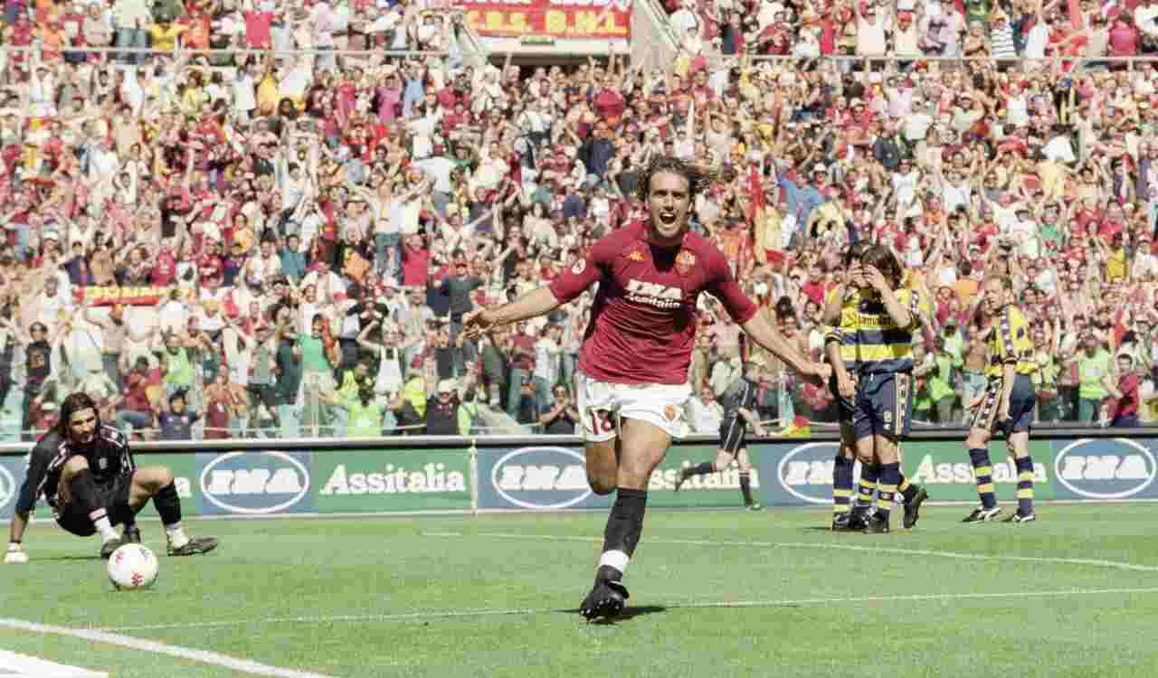 Gabriel Omar Batistuta Scudetto AS Roma