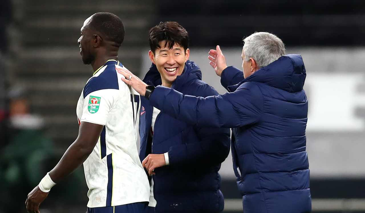 Mourinho, Sissoko e Son
