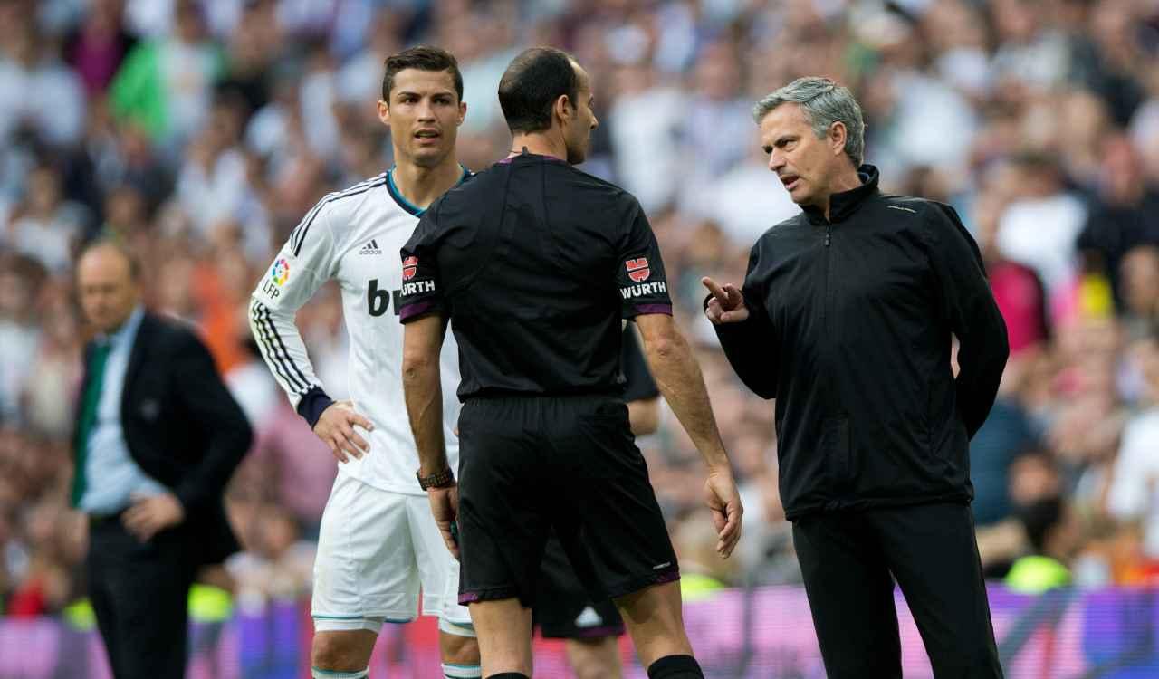 Ronaldo e Mourinho