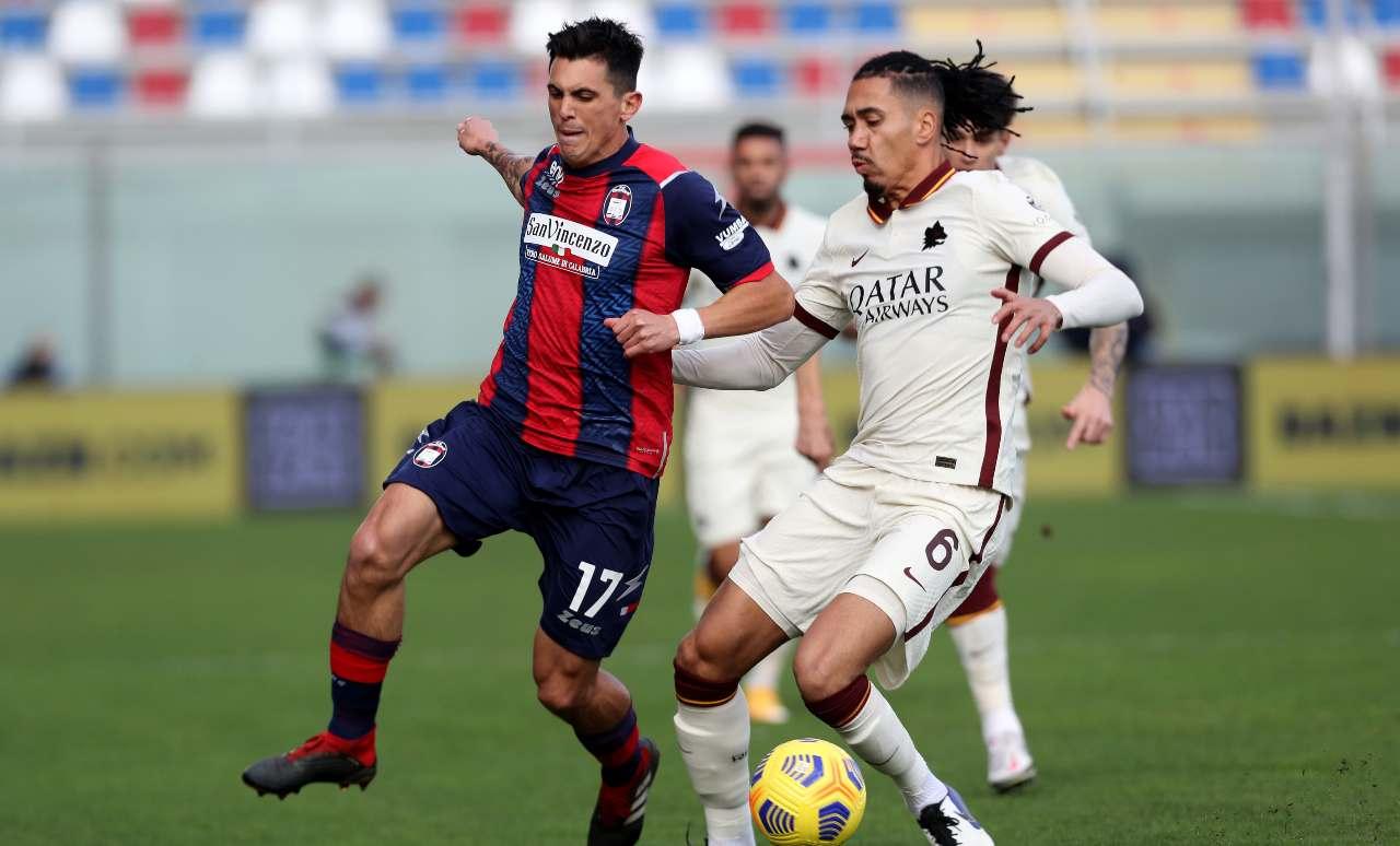 Calciomercato Roma, scatta l'asta per Smalling