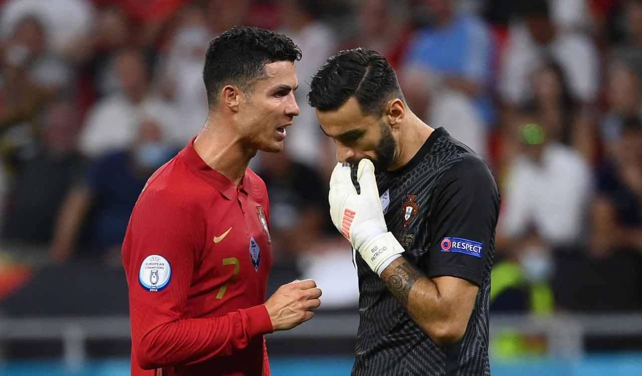 Ronaldo e Rui Patricio
