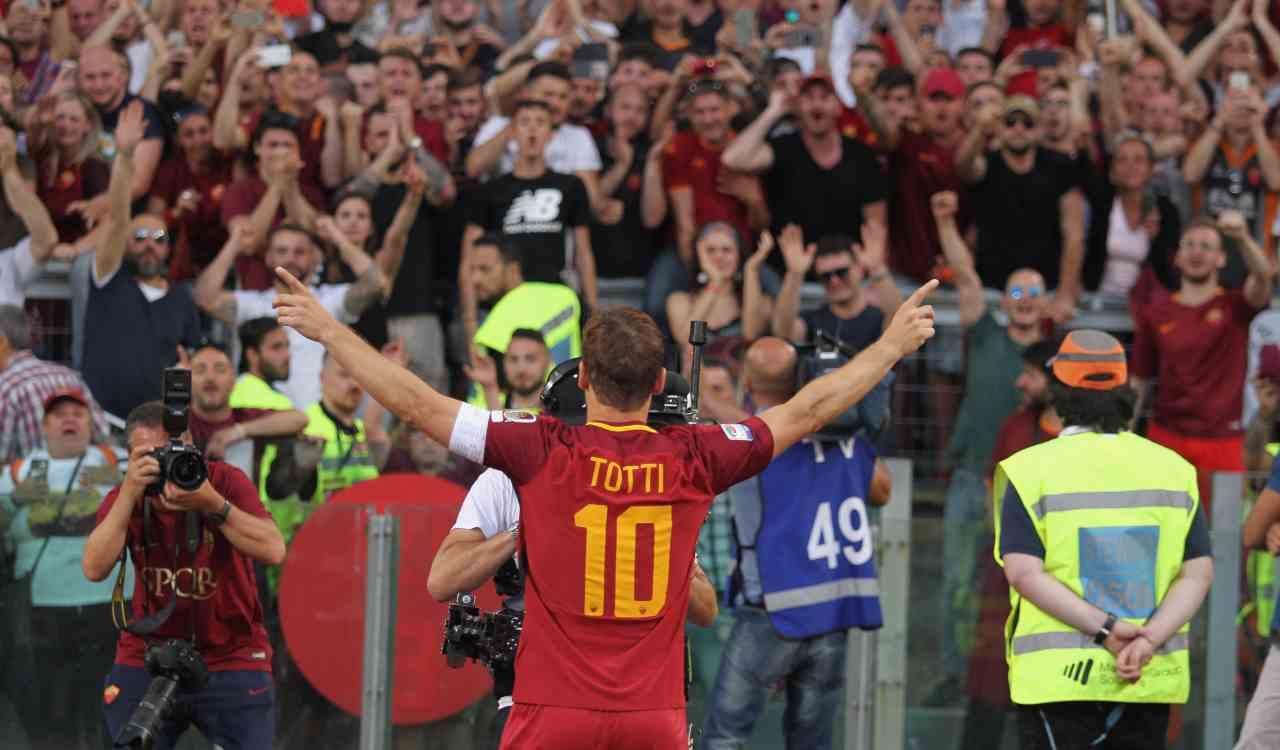 Francesco Totti derby