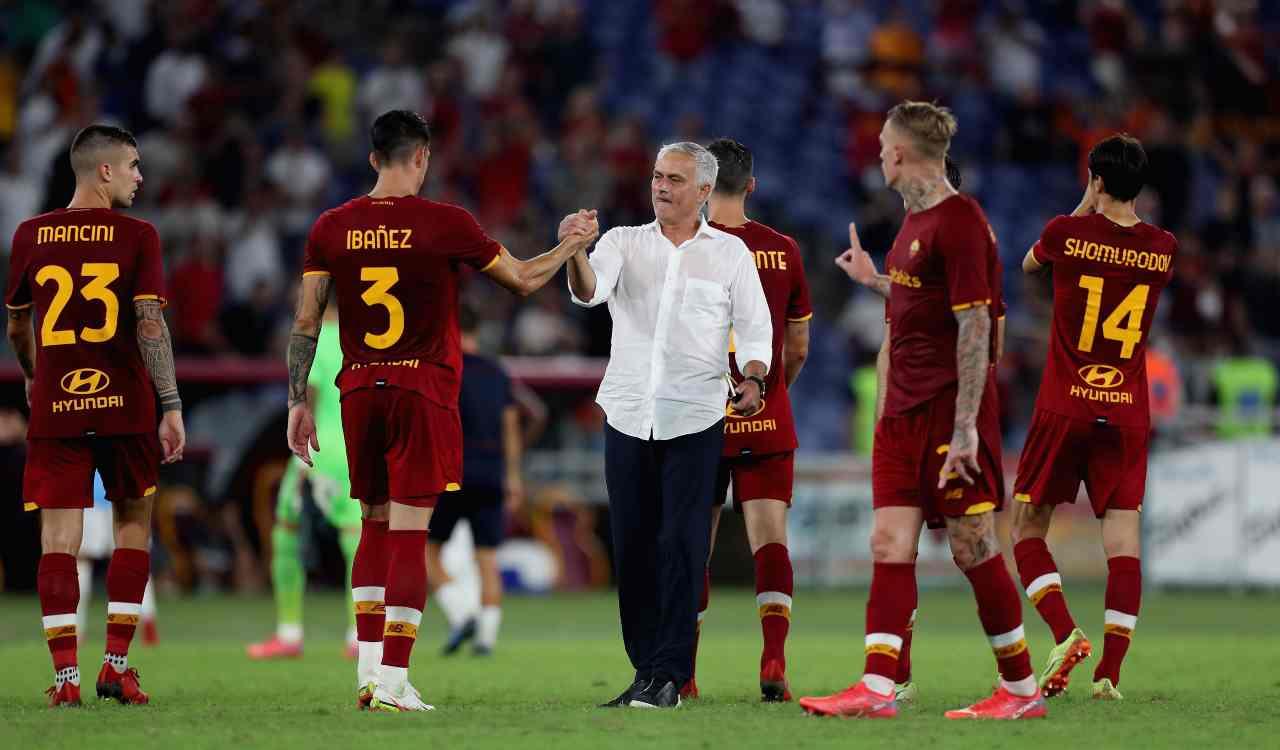 Roma e Mourinho