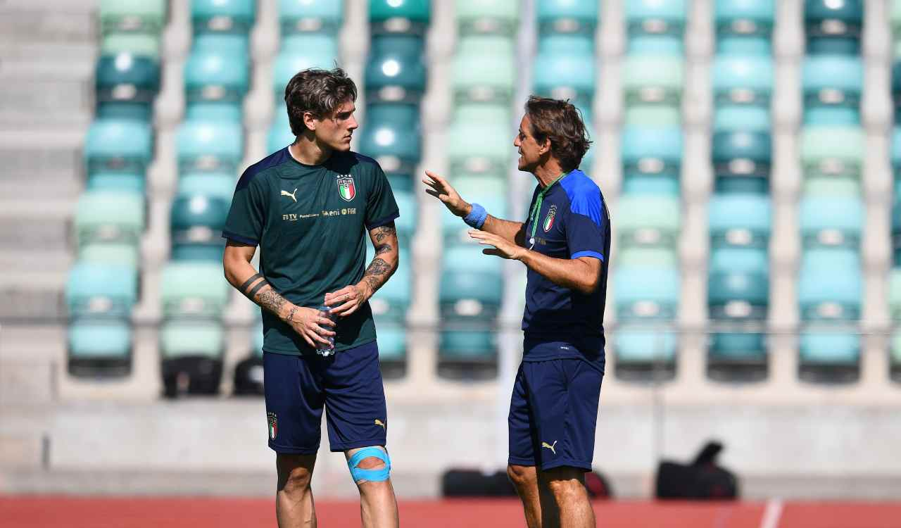 Zaniolo e Mancini
