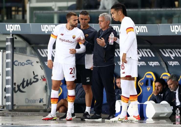 Borja Mayoral, Mourinho e Smalling