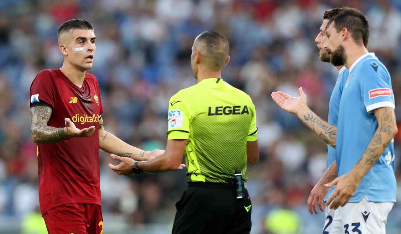 Guida arbitro derby roma lazio